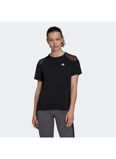 adidas Adidas Kadın Günlük Giyim T-Shirt W Uc T Gd4542 Siyah